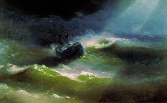 Ship_«Empress_Maria»_in_storm